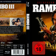 Rambo III (1988) R2 German (4k Remastered) Custom Covers & label