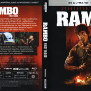 Rambo – First Blood (1982) German 4K Cover & labels