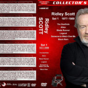 Ridley Scott Collection – Set 1 (1977-1989) R1 Custom DVD Covers