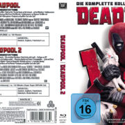 Deadpool 2-Movie-Collection (2018) R2 Custom German Blu-Ray Covers