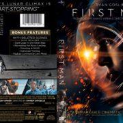 First Man (2018) R1 Custom DVD Cover