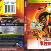 Incredibles 2 (2018) R1 4K UHD Cover & Labels