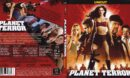 Planet Terror (2010) R2 German Slim Blu-Ray Cover & Label
