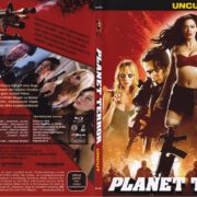 Planet Terror (2010) R2 German Slim Blu-Ray Cover & Label