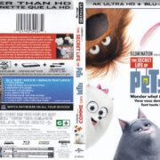 The Secret Life Of Pets (2015) 4K UHD RETAIL R1 Cover & Labels