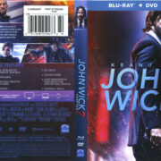 John Wick: Chapter 2 (2017) R1 Blu-Ray cover & labels