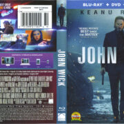 John Wick (2014) R1 Blu-Ray Cover & labels