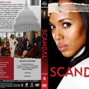 Scandal – Season 6 (2017) R1 Custom DVD Cover & Labels