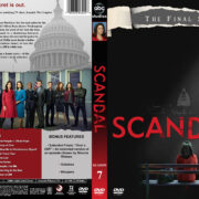 Scandal – Season 7 (2018) R1 Custom DVD Cover & Labels