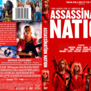 Assassination Nation (2018) R1 Custom DVD Cover