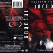 Incubus (1966) R1 DVD Cover & Label