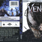 Venom (2018) R1 4K UHD Cover & Labels
