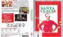 Santa Clause - Eine schöne Bescherung (1994) R2 German DVD Cover & Label