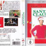 Santa Clause – Eine schöne Bescherung (1994) R2 German DVD Cover & Label