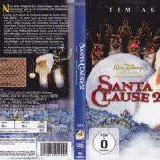 Santa Clause 2 – Eine noch schönere Bescherung (2002) R2 German DVD Cover & Label