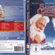 Santa Clause 3 – Eine frostige Bescherung (2006) R2 German DVD Cover & Label