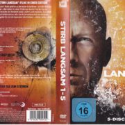 Stirb langsam Collection (1988 – 2013) R2 German DVD Cover & Labels
