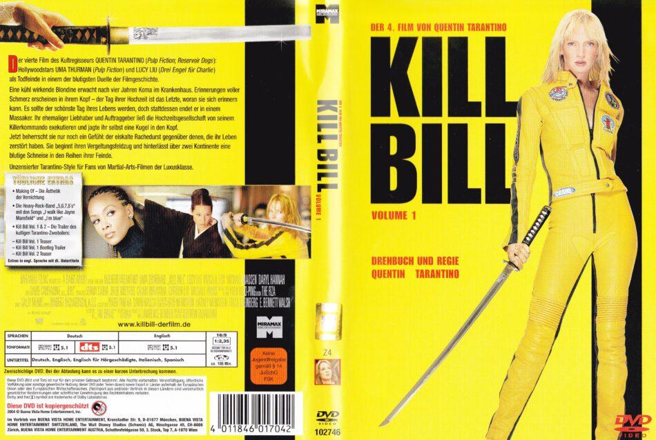 Kill Bill Vol 1 2003 R2 German Dvd Cover Label Dvdcover Com