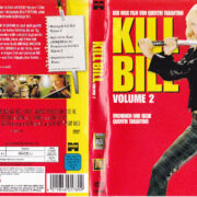 Kill Bill - Vol.2 (2004) R2 German DVD Cover & label
