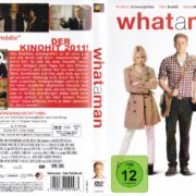 What a Man (2011) R2 German DVD Cover & Label