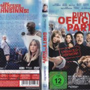 Dirty Office Party (2017) R2 German DVD Cover & Label