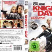 Knight and Day (2010) R2 German DvD Cover & label