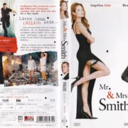 Mr. & Mrs. Smith (2006) R2 German DVD Cover & Label