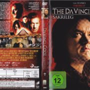 The Da Vinci Code – Sakrileg (2006) R2 German DVD Cover & Label