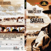 Return of Sabata (1971) R1 WS SLIM DVD COVER