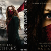 Mortal Engines (2018) R0 Custom DVD cover
