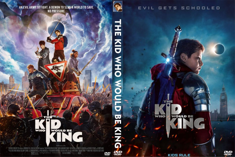 The Kid Who Would Be King (2019) R0 Custom DVD Cover ...
