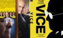 Vice (2018) R0 Custom DVD Cover