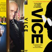 Vice (2018) R0 Custom DVD Cover