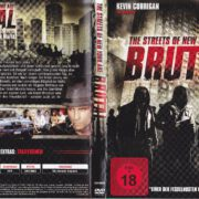 The Streets of New York are Brutal (2013) R2 German DVD Cover & Label