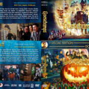 Goosebumps Double Feature (2015-2018) R1 Custom DVD Cover