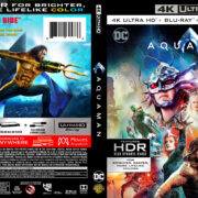 Aquaman (2018) R1 4K UHD Custom Cover