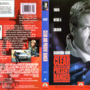 Clear and Present Danger (1993) R1 WS DVD Cover