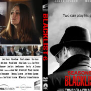 The Blacklist: Season 6 (2019) R0 Custom DVD Cover