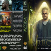 Arrow: Season 7 (2019) R0 Custom DVD Cover