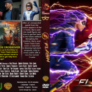 The Flash: Season 5 (2019) R0 Custom DVD Cover