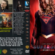 Supergirl: Season 4 (2019) R0 Custom DVD Cover