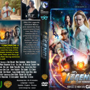 DC Legends Of Tomorrow: Season 4 (2019) R0 Custom DVD Cover
