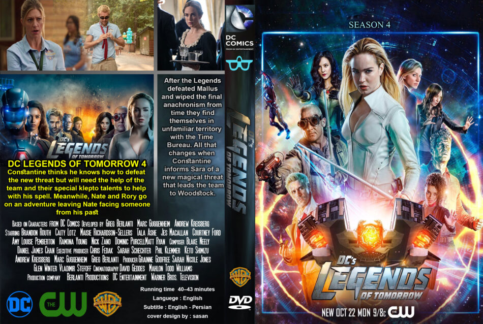 Dc Legends Of Tomorrow Staffel 4