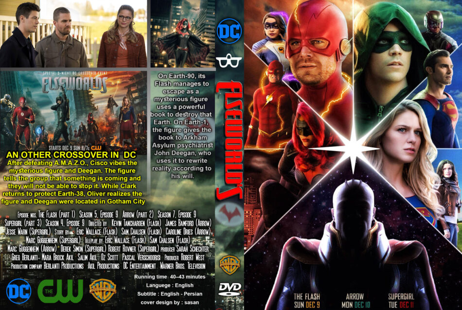 Elseworlds Crossover (2019) R0 Custom DVD Cover - DVDcover Com