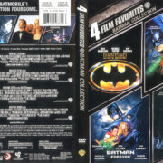 Batman Collection (4 Movies, 1989-2009) R1 WS DVD Cover