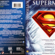 Superman – 5 Film Collection (1978-2013) R1 WS DVD Cover