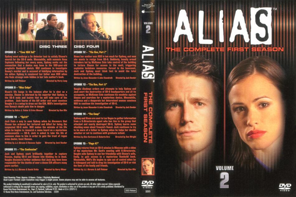 Alias - Season 1 (2003) R1 WS [Vol 2 of 3] R1 DVD Cover - DVDcover Com