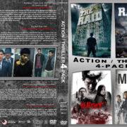 Action / Thriller 4-Pack (2011-2018) R1 Custom DVD Cover