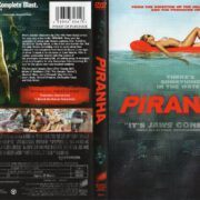 Piranha (2010) WS R1 DVD Cover & Label