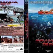Piranha (2010) R0 Custom DVD Cover & Label